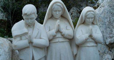 Los 3 pastorcitos de Fátima