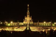 Procesión de velas en Fátima