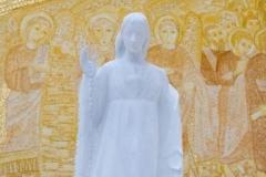 Escultura del coración inmaculado de la Virgen en Fátima