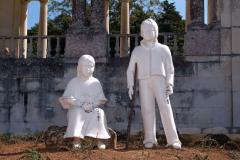 Esculturas de Jacinta y Francisco