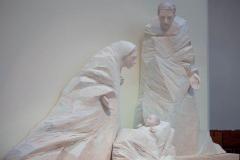 Escultura de la Sagrada Familia